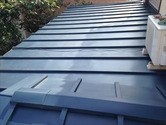 下屋根を葺き替え アフター