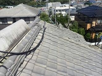 和瓦屋根を葺き直し アフター