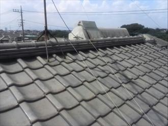 和瓦屋根を葺き直し ビフォア