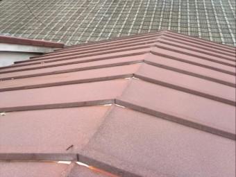 瓦棒屋根の葺き替え ビフォア