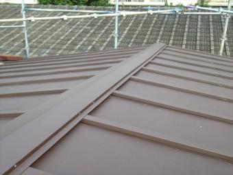 瓦棒屋根の葺き替え アフター