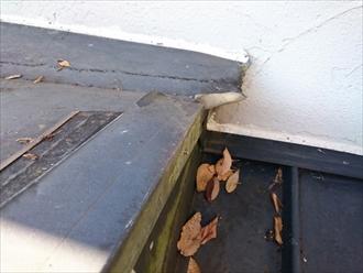 川崎市麻生区でガルバリウム鋼板の雨漏り調査