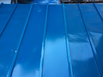 瓦棒屋根を補修工事 アフター
