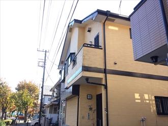 横浜市都筑区のお宅で破風板が破損とのお問合せがありました