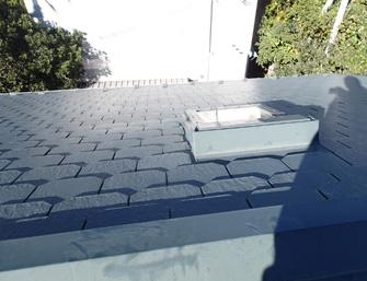 川崎市多摩区でドーマーの付いた屋根の点検で塗膜劣化から屋根塗装をご提案
