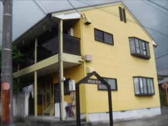 秦野市でアパートの棟板金交換を中心に外装リフォーム