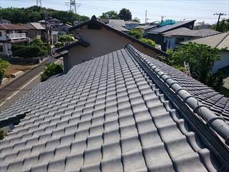横浜市戸塚区で雨漏りする前に漆喰工事をおこないます