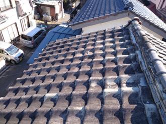川崎市幸区で瓦屋根と瓦棒屋根の点検にお伺いしました