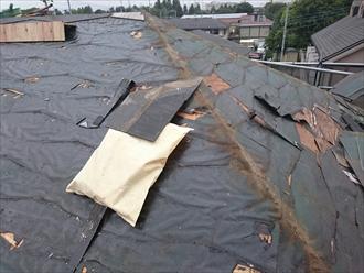 横浜市南区でスレートから金属屋根へ葺き替え工事