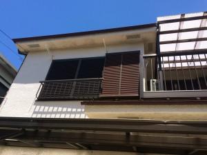 横浜市港南区で外壁塗装の為の外壁実測