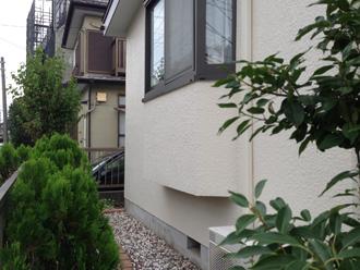 葉山町で傷んでしまった棟の漆喰調査