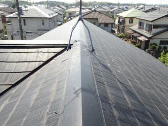 横浜市瀬谷区でベランダ防水の劣化とスレート屋根の縁切り不足