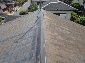 藤沢市で屋根塗装のご相談、築18年で2回目の塗装