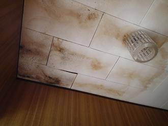 藤沢市で雨漏り、屋根と壁の取り合いに問題がありそうです