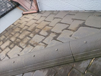 横浜市中区で劣化したアーバニーから葺き替え工事のご提案