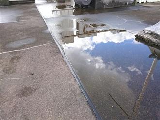 川崎市幸区で屋上からの雨漏りは防水工事で直します