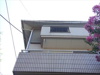 横須賀市大雨がきっかけで住宅の雨樋破損