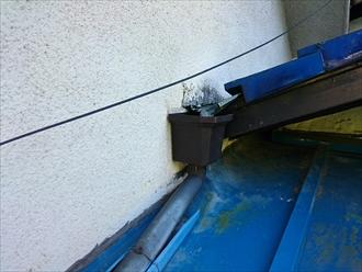 横浜市緑区で雨漏りの原因は瓦屋根の谷にありました