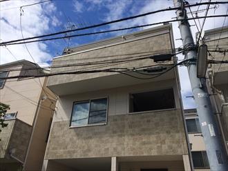 相模原市南区の屋根調査で剥離したスレートのメンテナンス