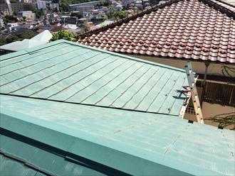 相模原市南区11年前の屋根塗装から初めての屋根調査