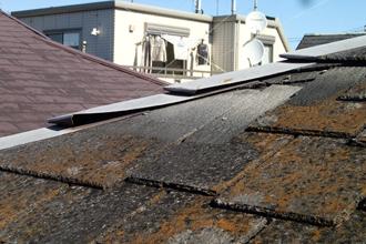 横浜市金沢区にて雨漏り、屋根葺き替えをご提案