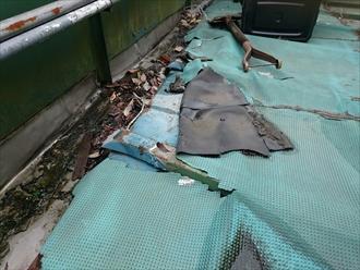 横浜市旭区で雨漏り修理工事をおこなっています
