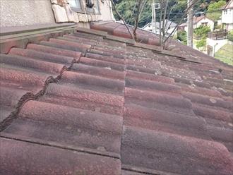 神奈川県横須賀市でモニエル瓦のメンテナンスをおこないます