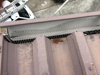折半屋根錆び