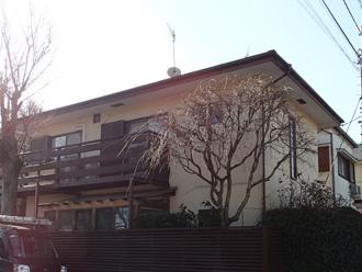 横浜市港北区 屋根カバー工法前の調査