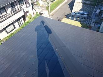 川崎市麻生区で雪に備えて屋根に雪止めを設置しました