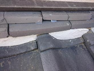 横浜市緑区で瓦屋根の雨漏り修理工事