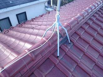 横浜市青葉区で瓦屋根からガルバリウム鋼板へ葺き替え工事