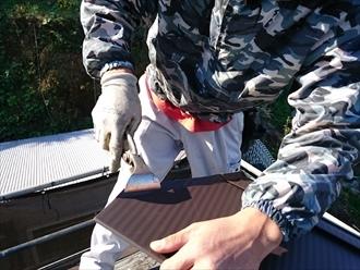 横浜市港北区でガルバリウム鋼板などの金属屋根で葺き替え