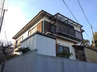 横浜市青葉区棟板金の捲れによる屋根調査でカバー工事のご提案