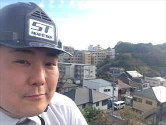 横浜市都筑区で棟板金捲れの調査でもそれ以外に気づいたところもご報告