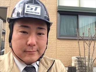 横浜市戸塚区スレート劣化による屋根リフォームのため屋根調査