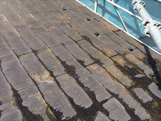 スレート屋根,高圧洗浄