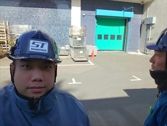 横浜市港北区で工場などの屋根に良く使われる折板屋根