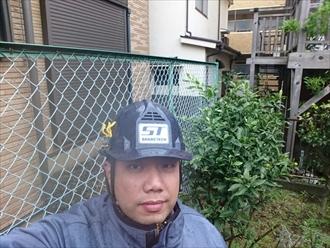 川崎市幸区で強風により雨漏りと雨樋破損