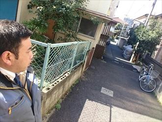 川崎市川崎区で強風で板金が飛散して葺替えも検討中