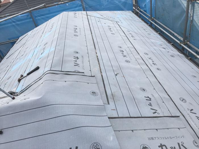 防水紙の耐久性