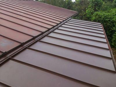 瓦棒屋根葺き替え工事アフター