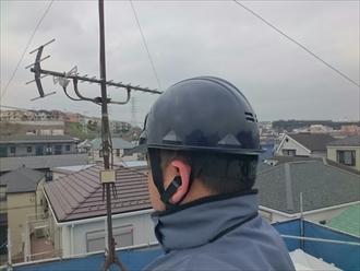 横浜市磯子区でシルガードを使って漆喰詰め直し工事