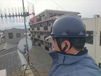 川崎市高津区の築20年の屋根メンテナンスでチェックするところ