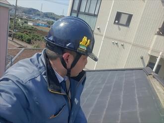 横浜市青葉区で強風で剥がれてしまった棟板金を火災保険で直します