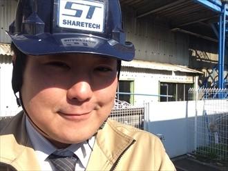 横浜市鶴見区でメンテナンスに向けた大波スレートや小波スレートの調査