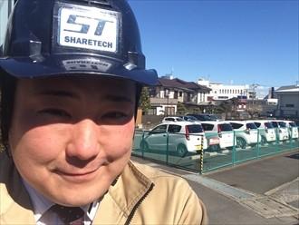 横浜市都筑区強風で棟板金が飛んだお宅の屋根を調査