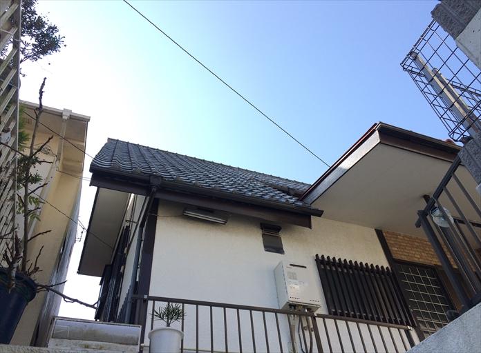 横浜市金沢区で瓦屋根の漆喰剥がれによる屋根全体の調査