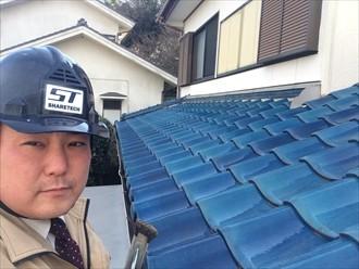 横浜市瀬谷区で防水紙が原因の雨漏りで屋根葺き直しのご提案