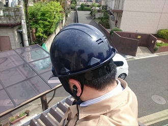 横浜市栄区で折板屋根カバー工事の定期点検